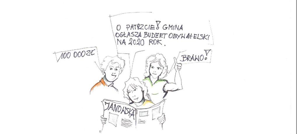 Zaproszenie do udziału w trzeciej edycji Budżetu Obywatelskiego Miasta Janów Lubelski